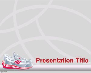 Plantilla PowerPoint de Zapatillas PPT Template