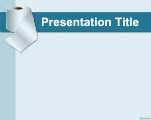 Plantilla PowerPoint de Papel Higiénico PPT Template
