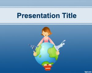 Travel Destinations PowerPoint Template