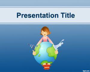 Plantilla PowerPoint para Agencia de Viajes PPT Template