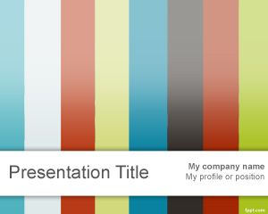Plantilla PowerPoint para Video PPT Template