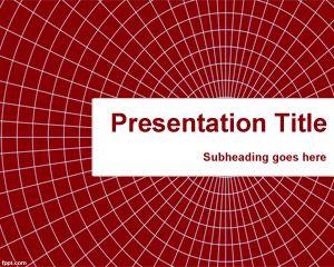 Plantilla PowerPoint con Telaraña PPT Template