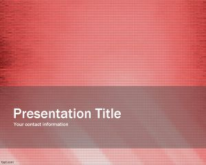 Vanish PowerPoint Template PPT Template