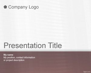 Cute PowerPoint Template PPT Template