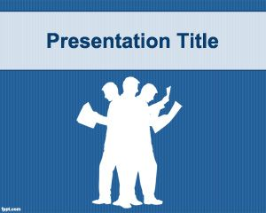 Workaholic PowerPoint Template