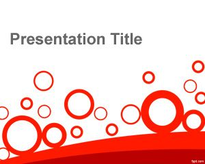 Circles free powerpoint templates this free art abstract circles powerpoint template contains red circles shapes over a white background great for abstract templates toneelgroepblik Choice Image