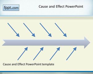 Cause and Effect PowerPoint Template PPT Template