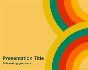 Color Wallpaper PowerPoint Template
