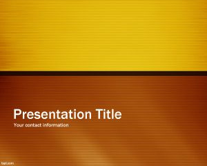 Crispy PowerPoint Template PPT Template