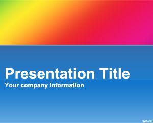 Doppler effect PowerPoint Template PPT Template