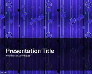 Elegant Pattern PowerPoint Template PPT Template