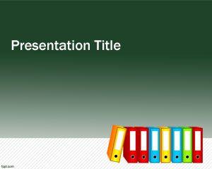 Folders PowerPoint Template