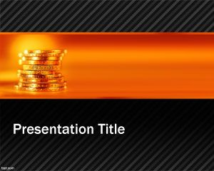 Gold Mine PowerPoint Template PPT Template