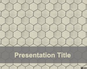 Honeycomb PowerPoint Template