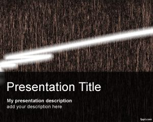 Laser PowerPoint Template