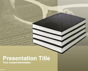 Plantilla PowerPoint de Literatura