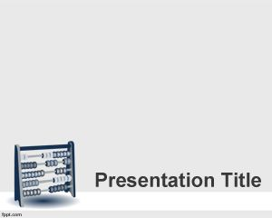 Math PowerPoint Template PPT Template