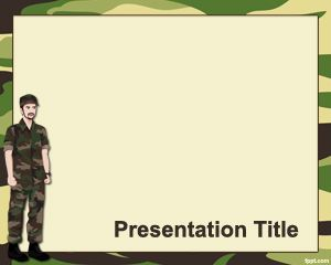 Military PowerPoint Template PPT Template
