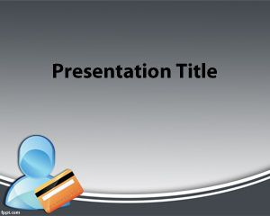 Mortgage credit PowerPoint Template