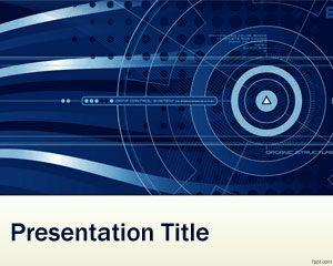 Plantilla PowerPoint de Nanotecnología PPT Template