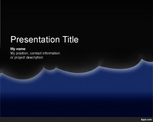 Night PowerPoint Template PPT Template