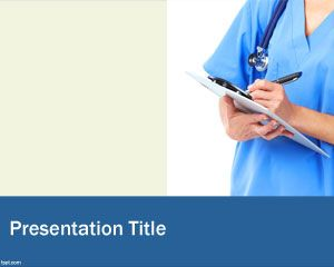 Nurse PowerPoint Template PPT Template