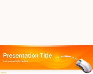 Orange Software PowerPoint Template PPT Template