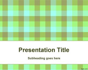 Organic Chemistry PowerPoint Template PPT Template