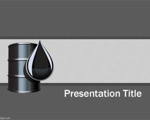 Plantilla PowerPoint de Petróleo PPT Template