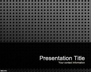 Plate PowerPoint Template PPT Template