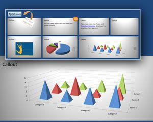 Poster PowerPoint Template 48″x18″ PPT Template