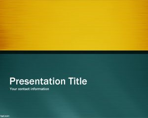 Professional green PowerPoint Template PPT Template