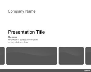 Property Management Template PPT Template