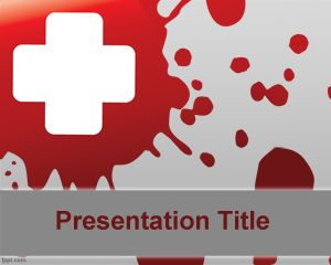 Public Healthcare PowerPoint Template and First Aid PPT