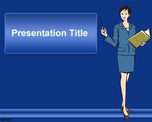 Plantilla PowerPoint de Secretaria