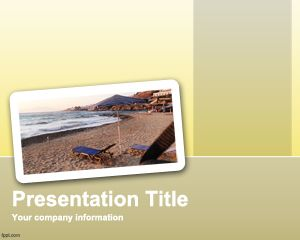 Vacation Trip PowerPoint Template