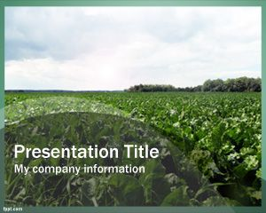 Free Farming PowerPoint Template