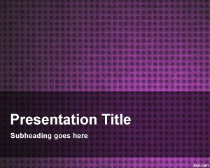Violet Platinum PowerPoint Template PPT Template