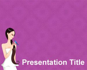 Woman Health PowerPoint Template Brainy PPT Template