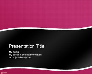 Singularity PowerPoint Template PPT Template