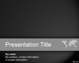 Benchmark PowerPoint Template