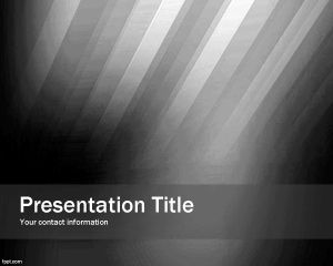 Black Impact PowerPoint Template PPT Template