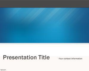 Blue Tech PowerPoint Template PPT Template