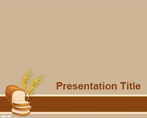Plantilla PowerPoint de Pan PPT Template