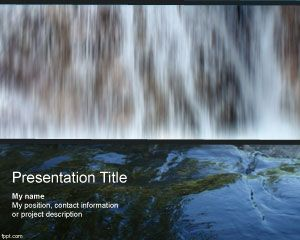 Cascade PowerPoint Template