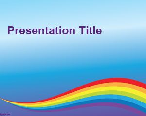 Colorful background for PowerPoint
