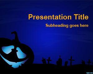 Plantilla PowerPoint de Terror PPT Template