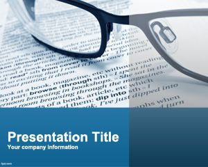 general education powerpoint template