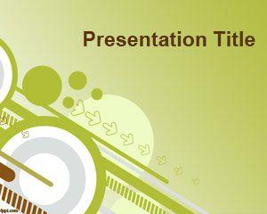 Going green powerpoint template
