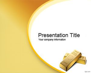 Golden Opportunity PowerPoint Template PPT Template